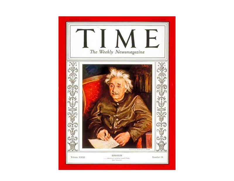 Обложка журнала TIME, апрель 1938 г.