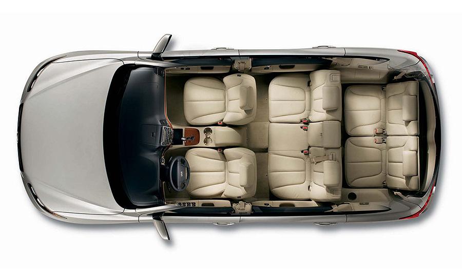 В Россию привезут дизельные и семиместные Hyundai Santa Fe