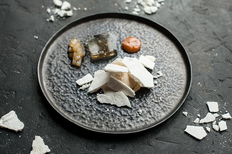 Соленая карамель с грушей
