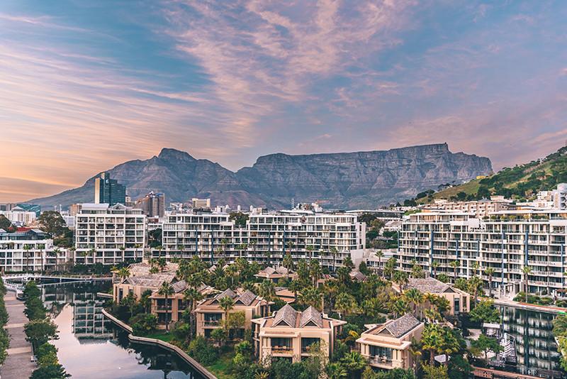 Панорамныйвид из президентского сьютана курорте One&Only Cape Town в ЮАР