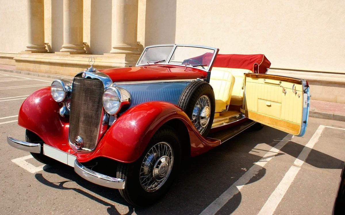 Кабриолет Mercedes-Benz1939 года выставили на продажу за ₽25 млн