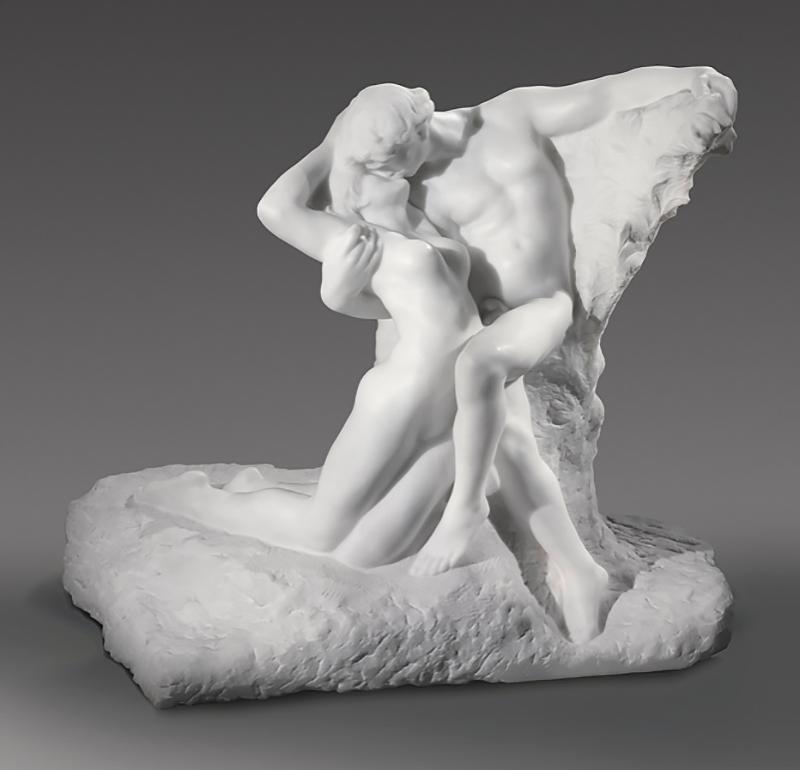Огюст Роден. «Вечная весна», 1884. Мрамор