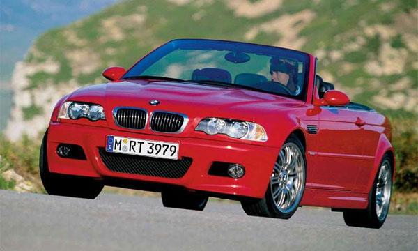 BMW M3 Convertible  2001 года