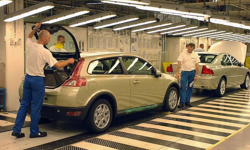 Volvo может закрыть завод в Генте