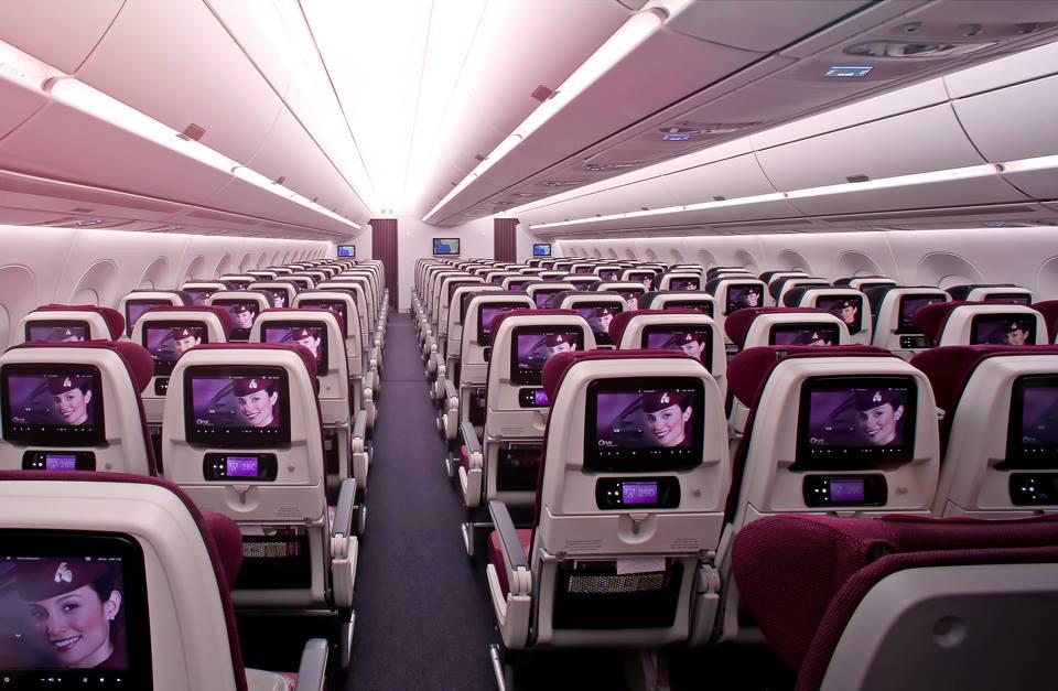 Qatar Airways, экономкласс