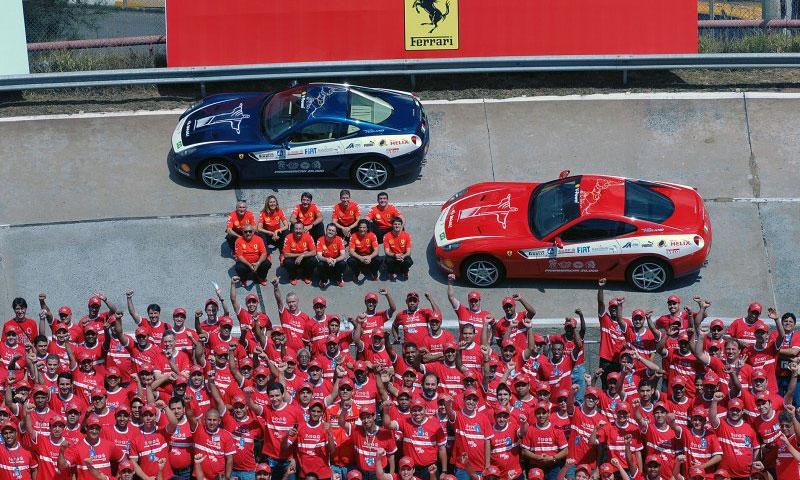 Автопробег Ferrari Panamerican 20 000 стартовал