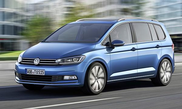 Volkswagen представил Touran нового поколения