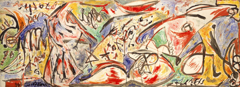 Джексон Поллок. «The Water Bull», 1946