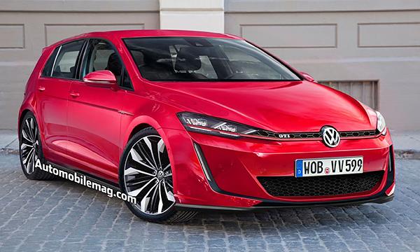 Volkswagen Golf VIII получит топовую версию RS