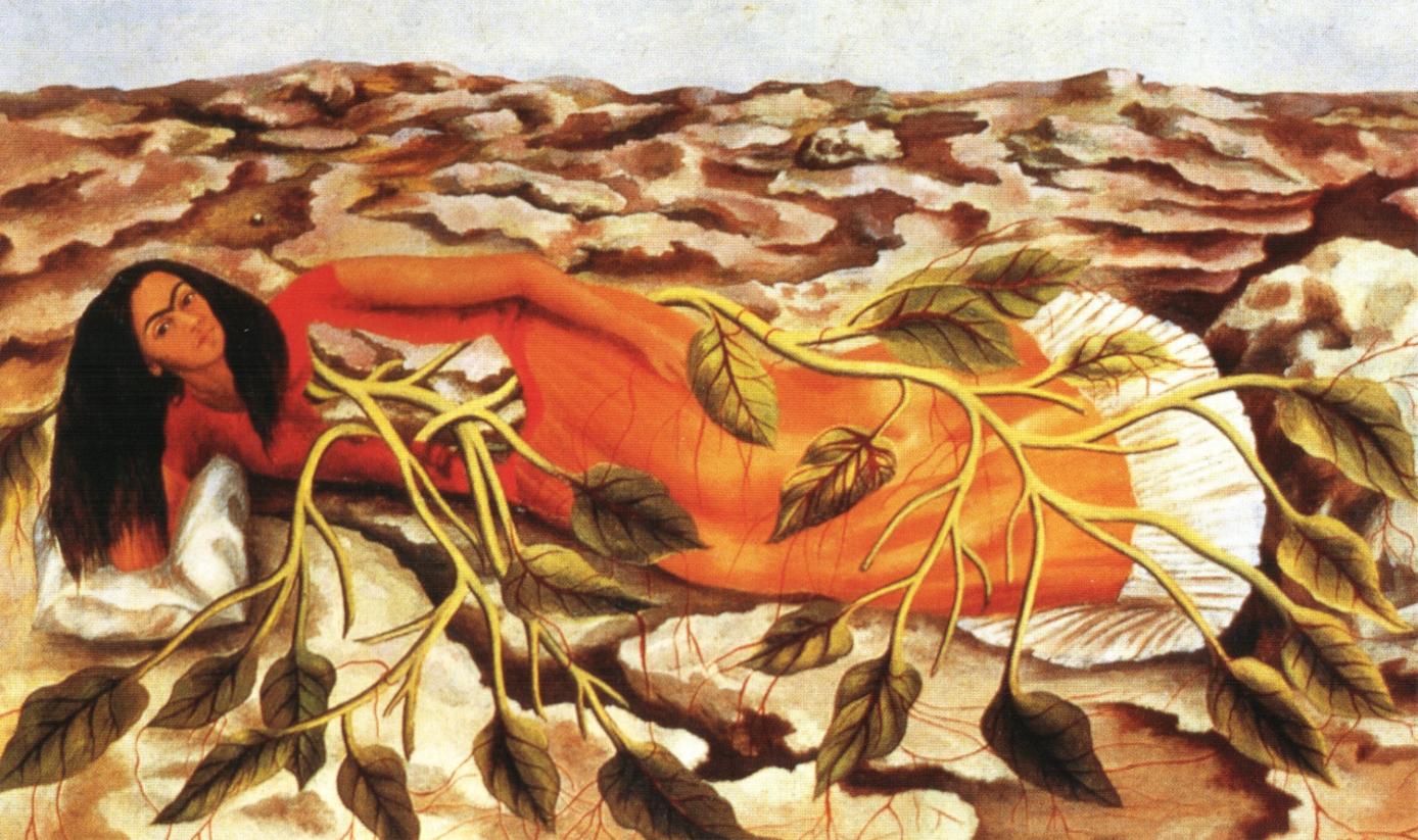 Фрида Кало. «Корни», 1943 г.