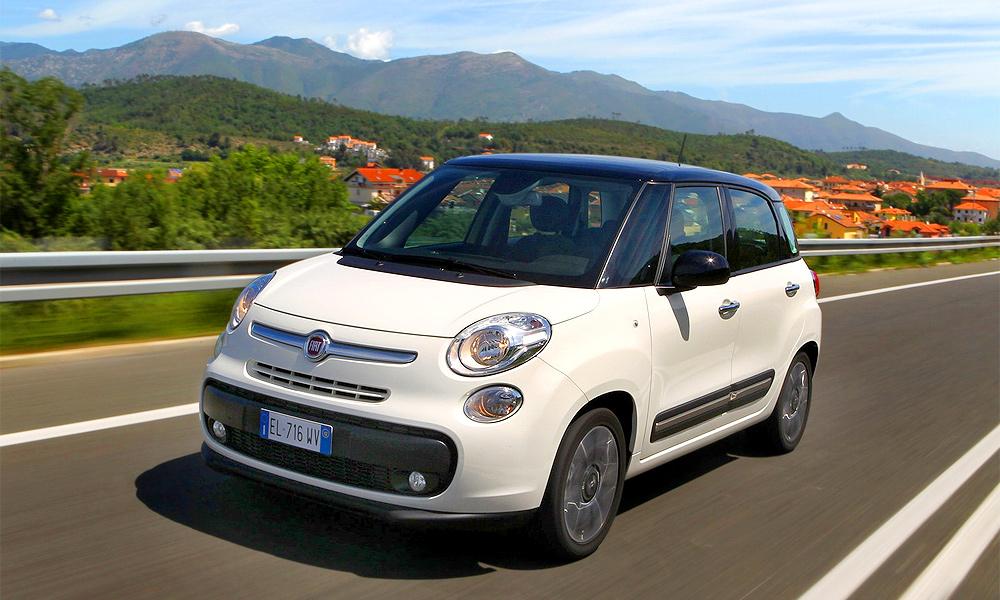 Fiat 500L поступит в продажу в октябре