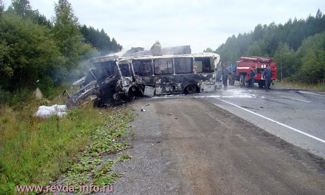 На Урале крушение автобуса унесло семь жизней