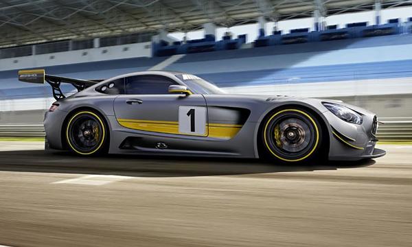 Mercedes рассекретил преемника SLS AMG GT3