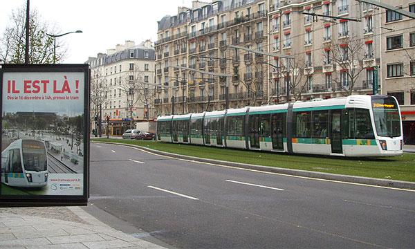 В Париже открылась первая после 70-летнего перерыва трамвайная линия