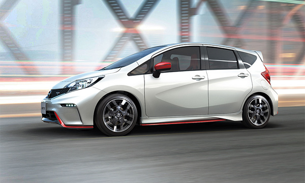Nissan рассекретил Note Nismo