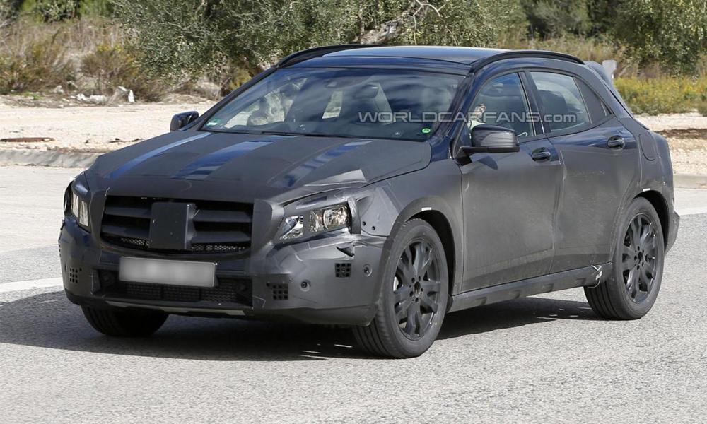 Mercedes-Benz GLA все ближе к покупателям. Новые фото