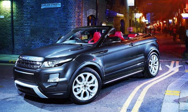 Land Rover превратит Evoque в кабриолет