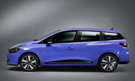 Универсал Renault Clio: компактный, практичный, модный