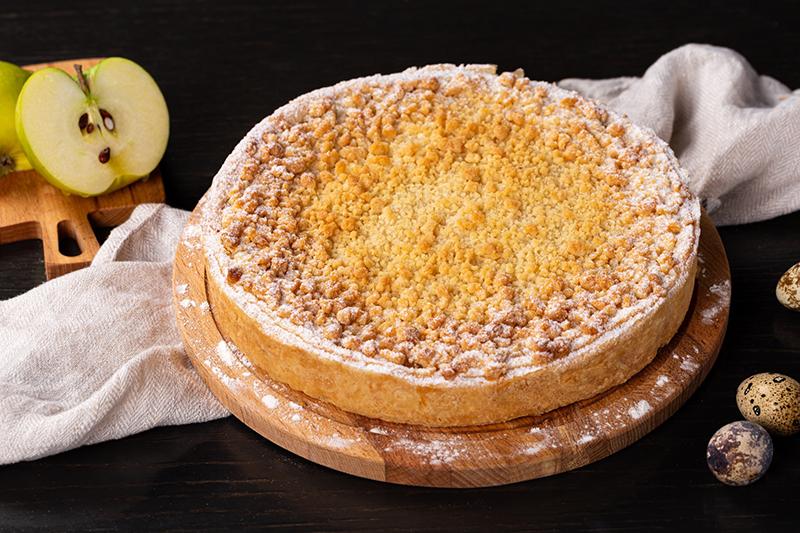 Яблочный домашний пирог