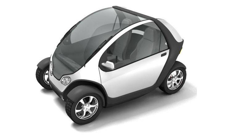 В США изобрели складной автомобиль