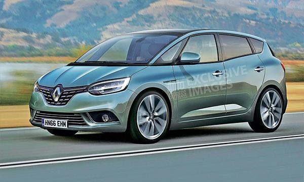 Названа дата премьеры нового поколения Renault Scenic