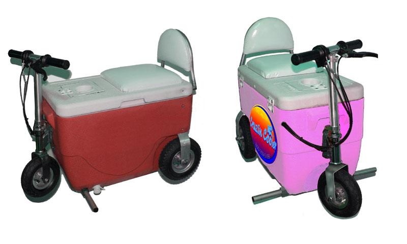 Холодильник на колесиках разгоняется до 20 км/ч
