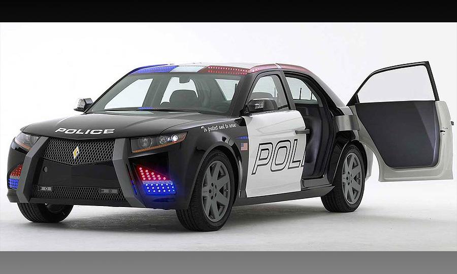 Carbon Motors создала первый автомобиль для копов