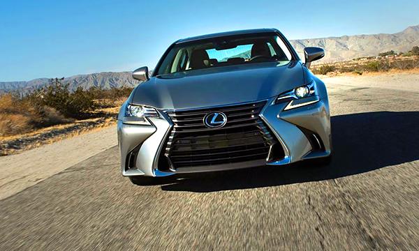 Обновленный Lexus GS получил двухлитровый турбомотор