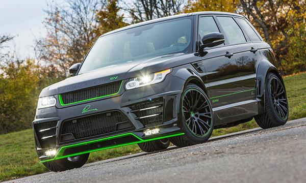 Range Rover Sport SVR сделали мощнее