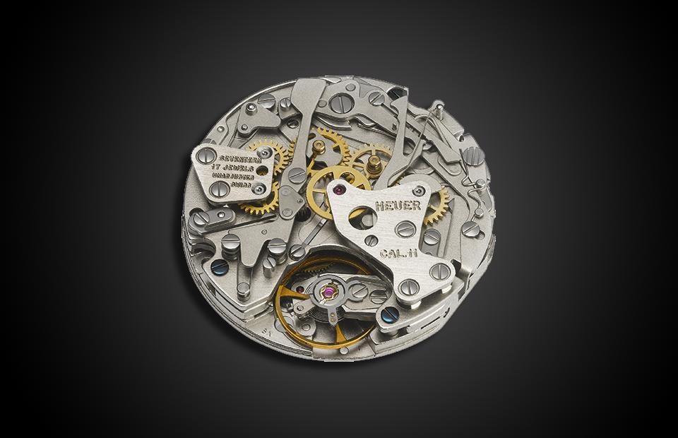 Механизм автоматического хронографа Calibre 11