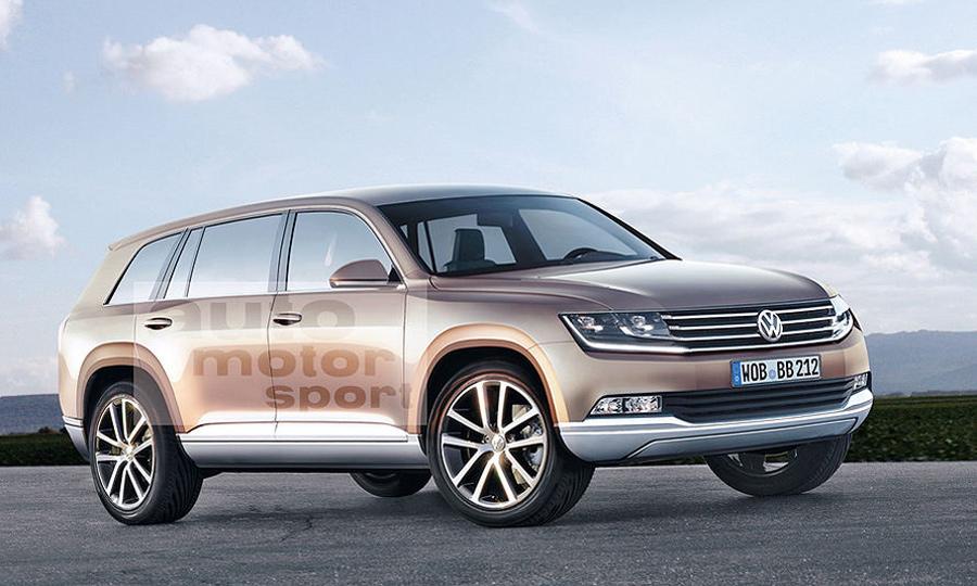 Volkswagen покорит сердца шейхов и русских олигархов