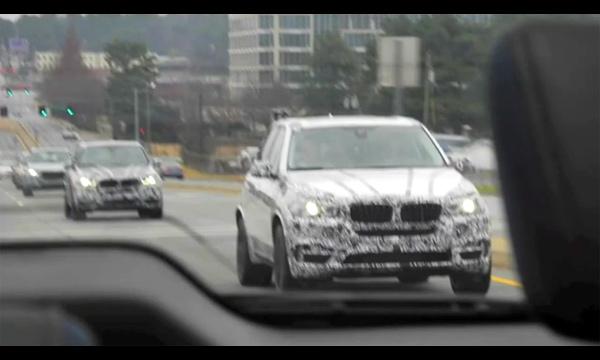 Новый BMW X5. Первое видео