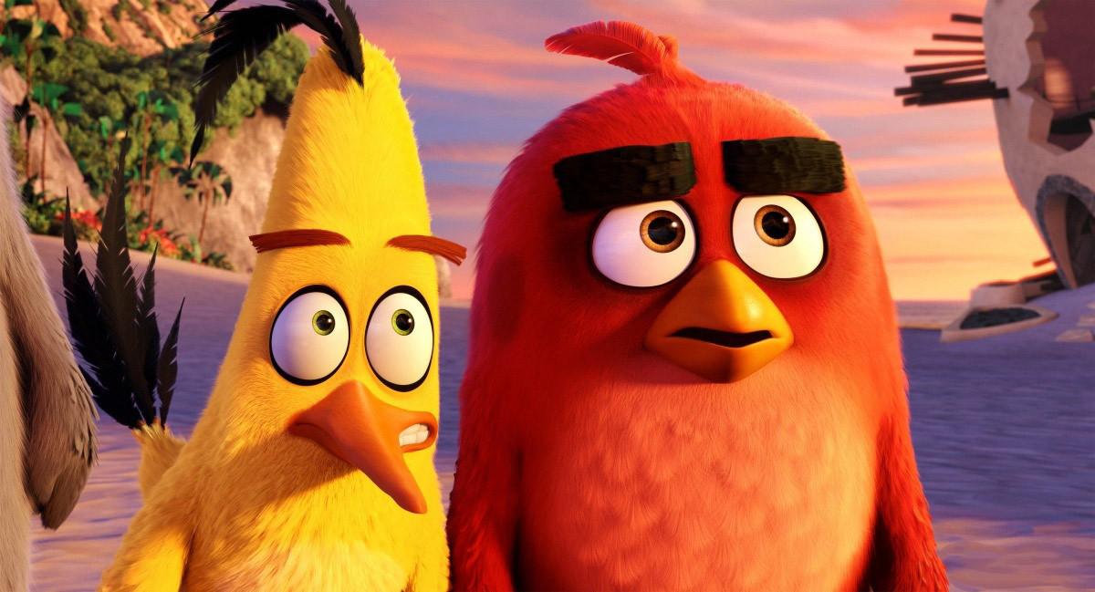 Кадр из мультфильма «Angry Birds в кино»