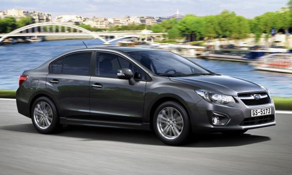 Subaru Impreza уходит с российского рынка