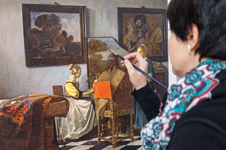Ян Вермеер. «Концерт», около 1663–1666