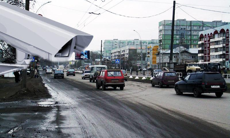 ГИБДД Москвы показала места своих видеокамер