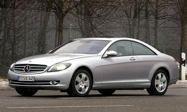 Новый Mercedes CL покажут осенью