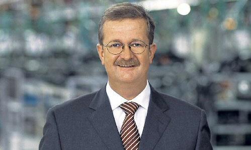 Исполнительный директор Porsche Венделин Видекинг