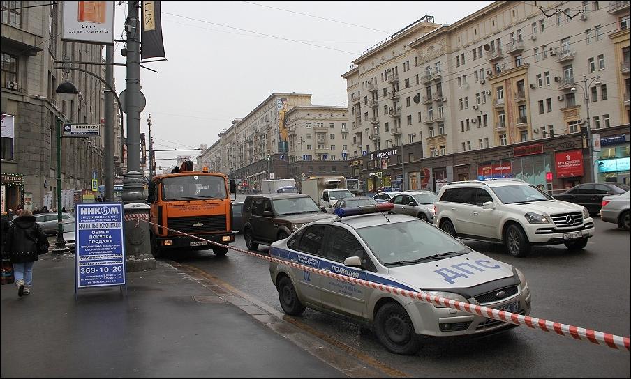 Парковку на Тверской необходимо вернуть