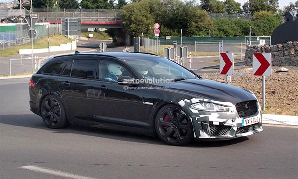 Jaguar выпустит XFR-S в кузове лифтбэк