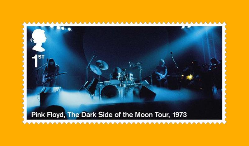 Кадр с выступлений Pink Floyd