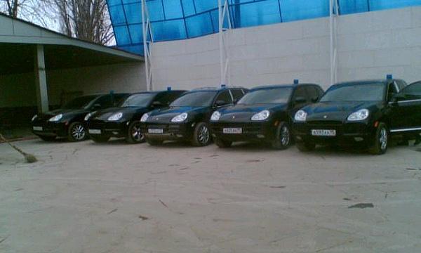 Чечня закупает Mercedes и Porsche для своего МВД