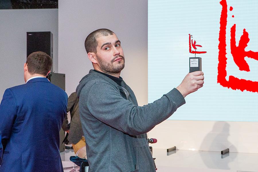 Андрей Кузькин, победитель в главной номинации «Проект года»