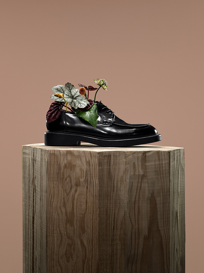 Рекламная кампания Vagabond, посвященная программе по переработке обуви