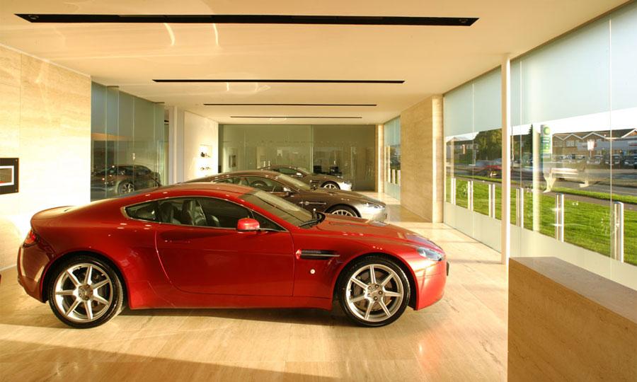 В Москве открывается шоу-рум Aston Martin