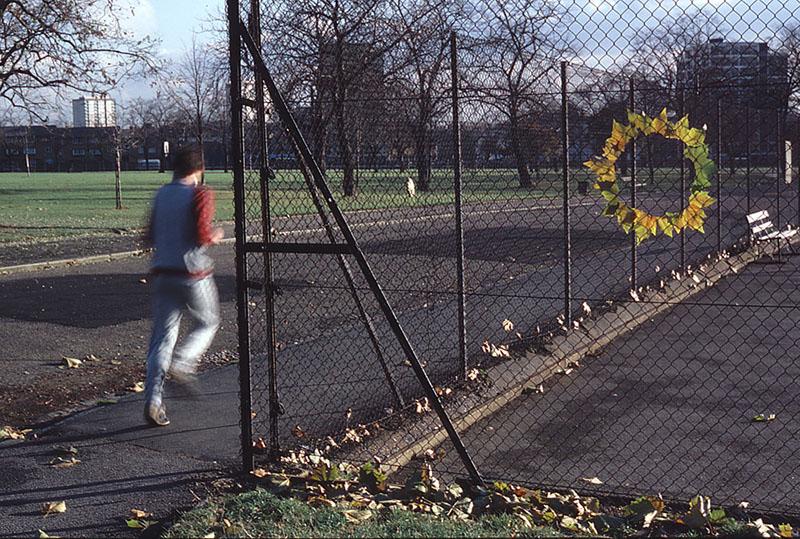 Энди Голдзуорти, «Плоский круг листьев», 1985