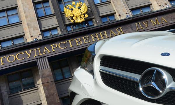 Клуб Путина и 133 «Мерседеса». На чем ездят депутаты