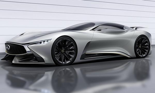 Infiniti представила концепт Vision GT