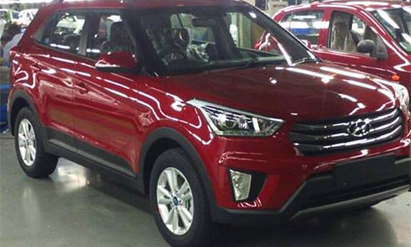 Новый кроссовер Hyundai Creta замечен без камуфляжа