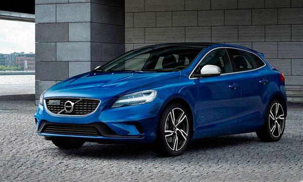 Volvo представила обновленный хэтчбек V40
